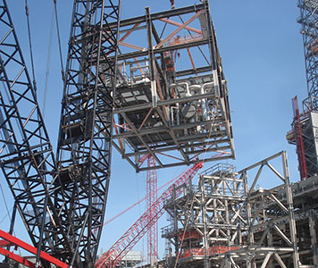 Crane and rigging engineers
